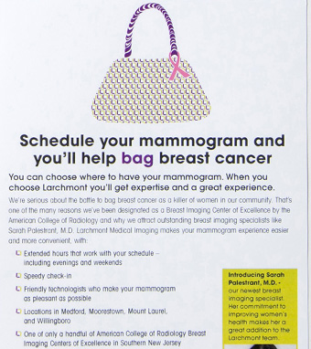 Bag Breast Cancer