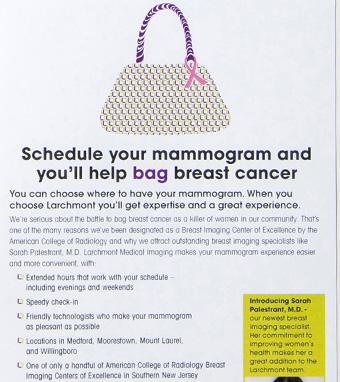 Bag Breast Cancer