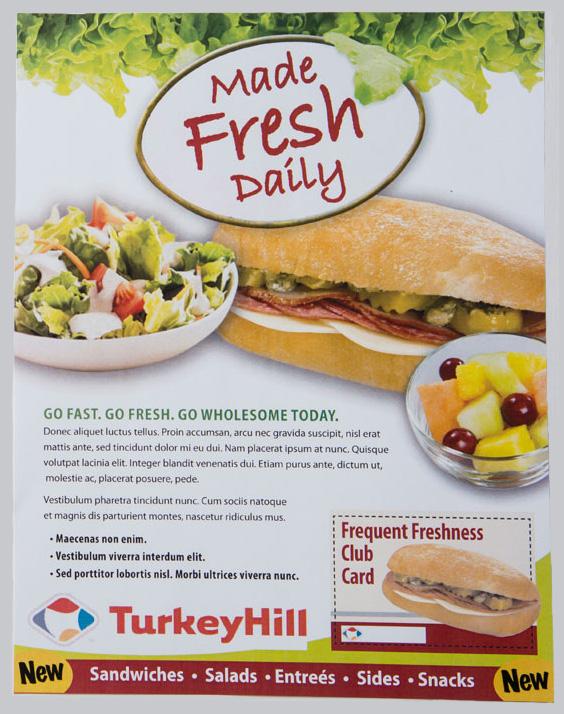 Turkey Hill promo