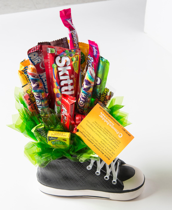 Candy in a shoe